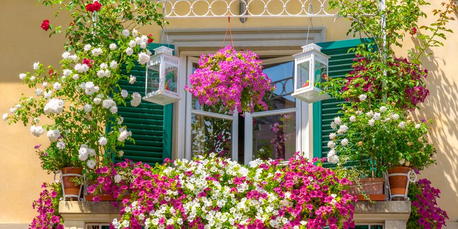 Как обустроить сад и огород на балконе