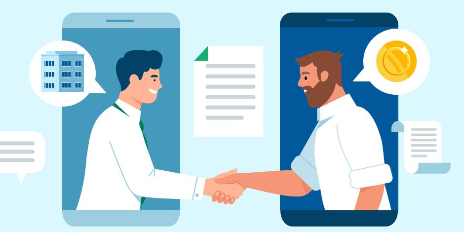 Как пригласить продавца или риелтора в сделку на Домклик