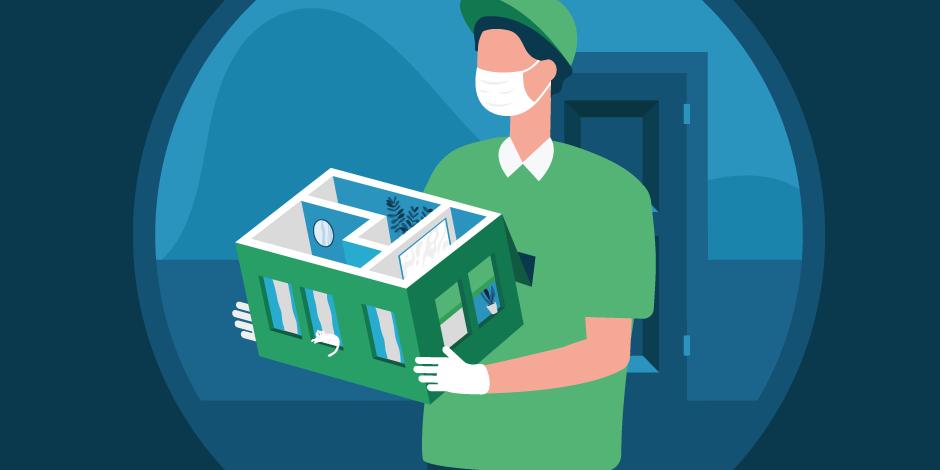 Как оформить ипотеку с доставкой на дом в Сбербанке