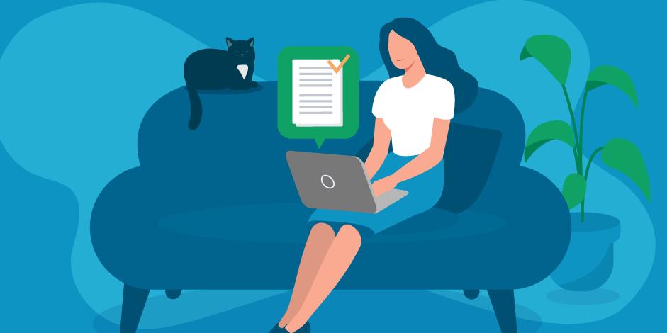 Как зарегистрировать право собственности с помощью электронной регистрации