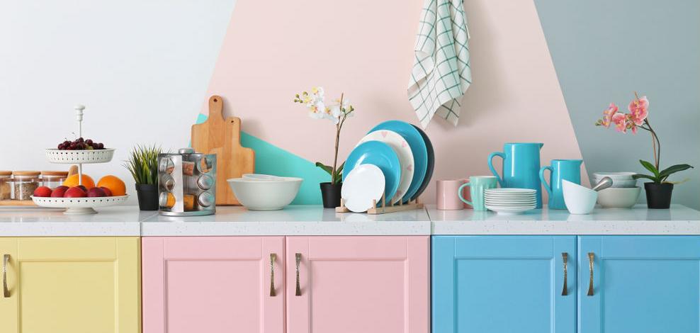 Больше пространства на маленькой кухне