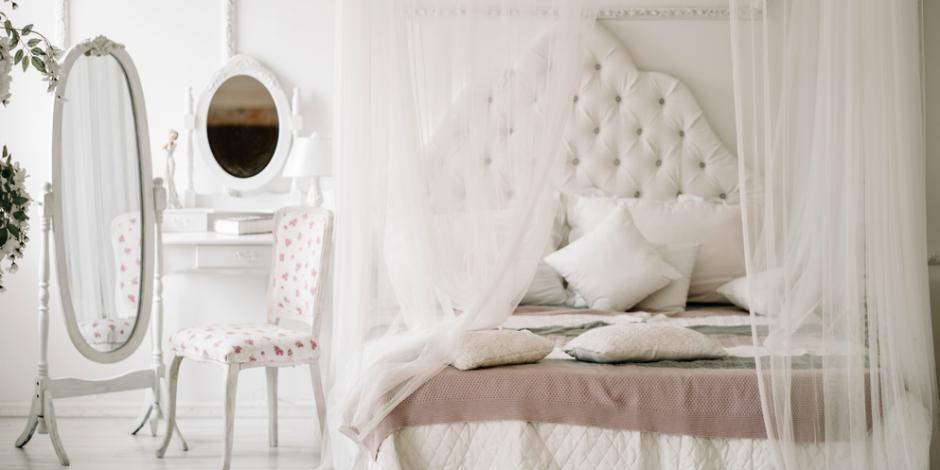 Как оформить спальню в парижском стиле