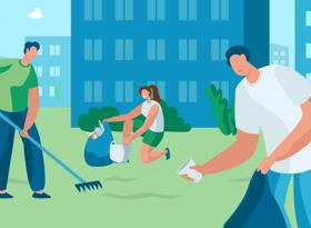 Кто и как должен убирать придомовую территорию