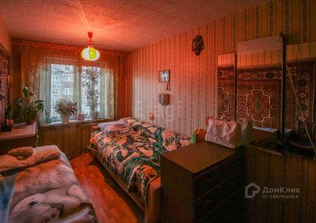 Продаётся 3-комнатная квартира, 59 м²