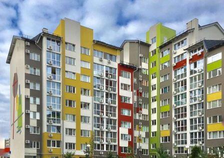 Продаётся 1-комнатная квартира, 45.55 м²