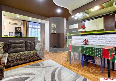 Продаётся 3-комнатная квартира, 53.6 м²