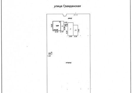 Продаётся 1-этажный дом, 32.8 м²