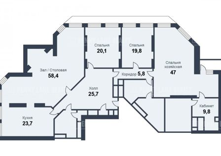 Продаётся 5-комнатная квартира, 250 м²