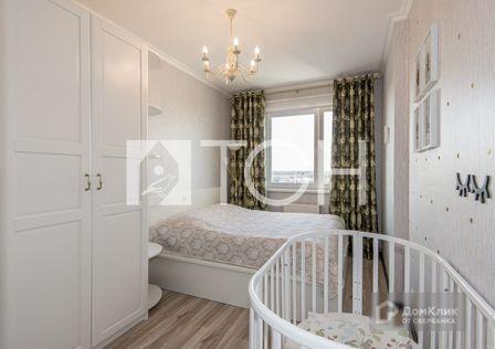 Продаётся 2-комнатная квартира, 53.2 м²