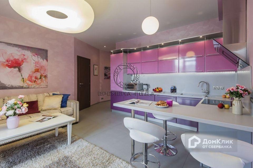 Продаётся 1-комнатная квартира, 50.6 м²